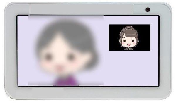 「呼びかけ」通話中_受信側(ぼか